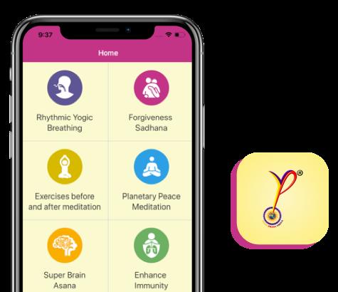 YPV Sadhana App for All - Yoga Prana Vidya